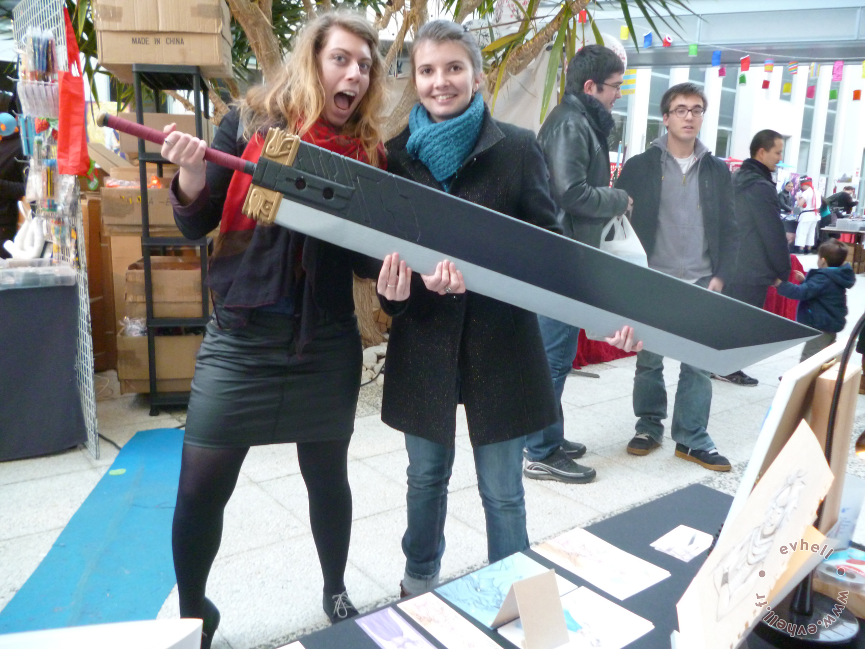 JapaNantes épée Final Fantasy Zack