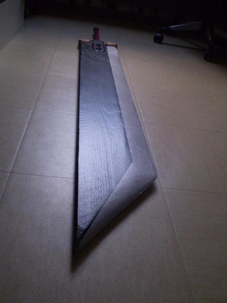 Buster Sword, la première réalisée