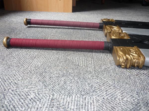 Garde des deux épées.