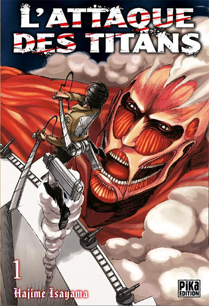 L'Attaque des Titans Couverture Manga