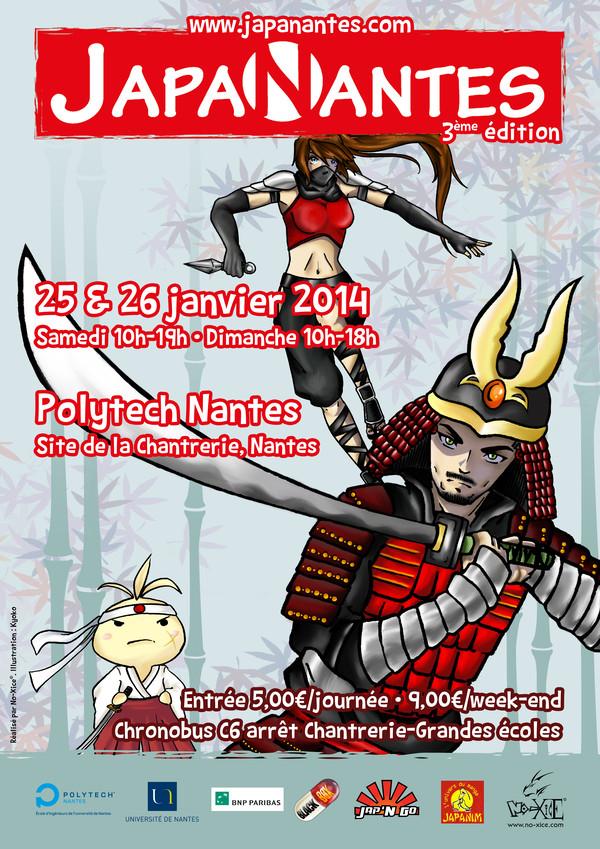 JapaNantes 3 Affiche