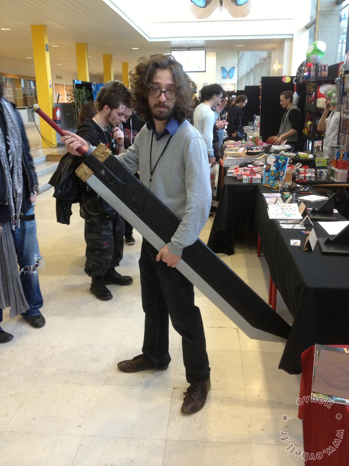 Nihon Breizh Festival - épée Zack et Usul