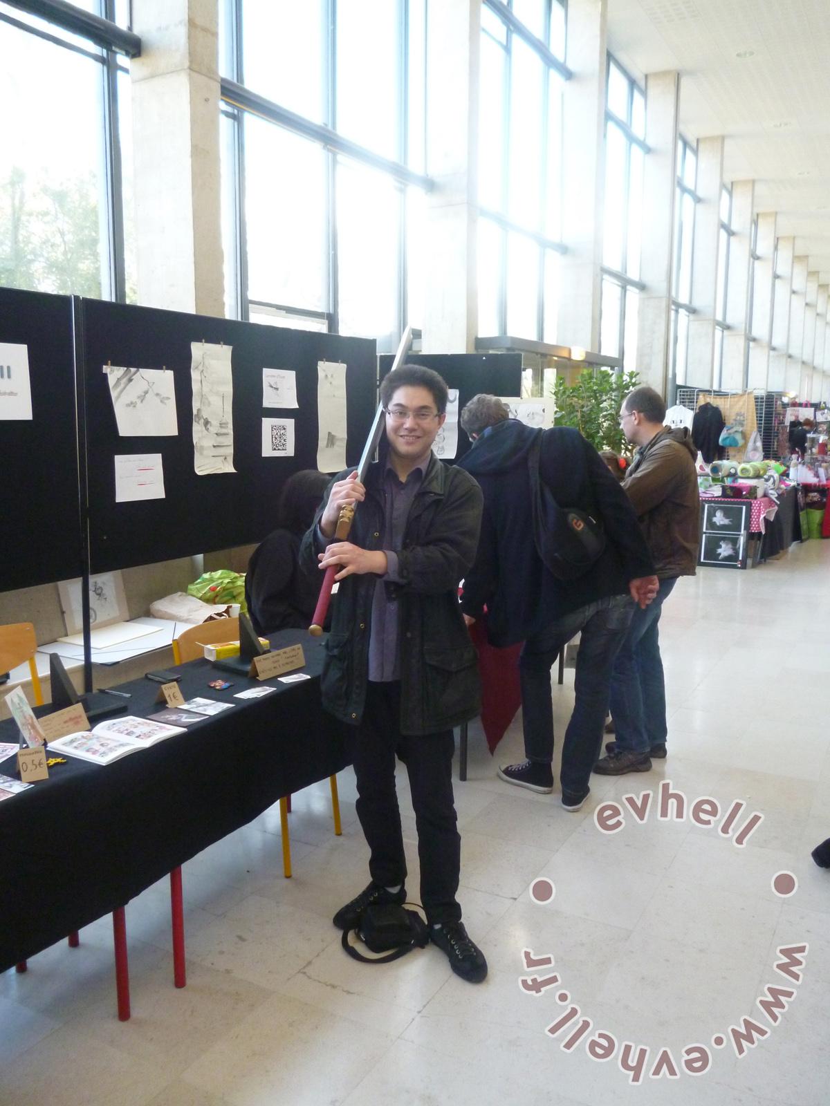 Nihon Breizh Festival photos avec épée FF