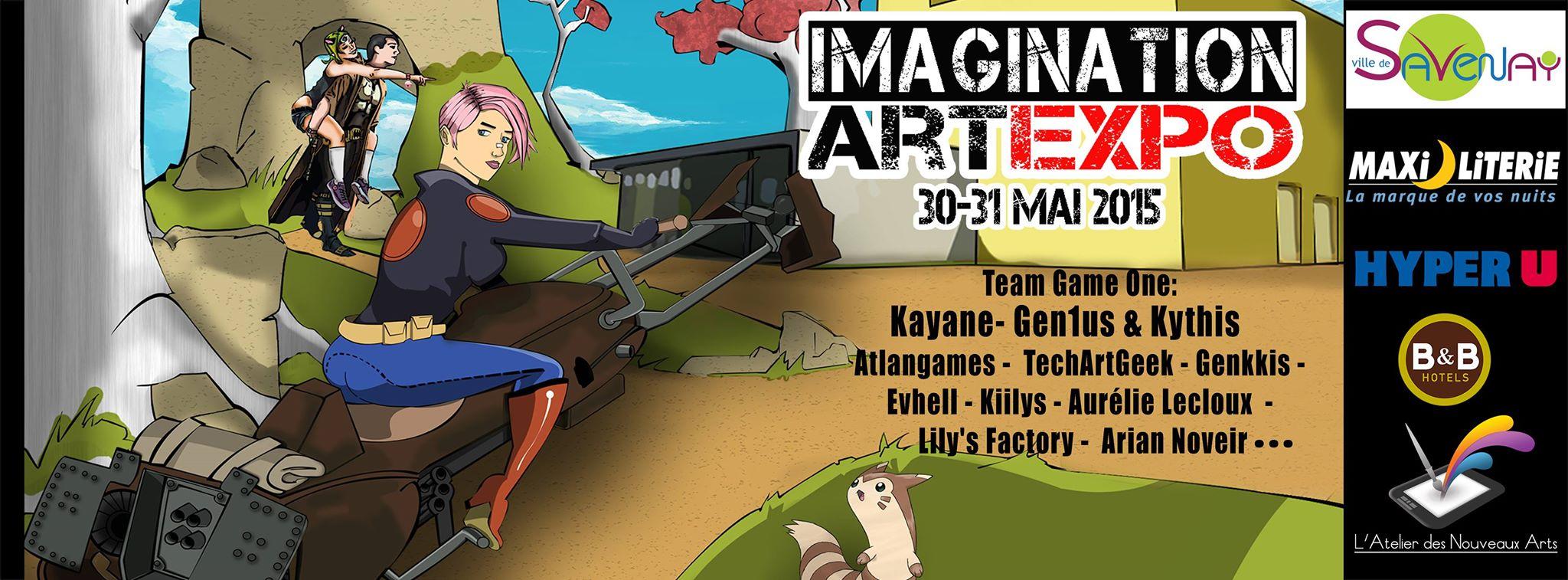 Affiche Imagination Art Expo