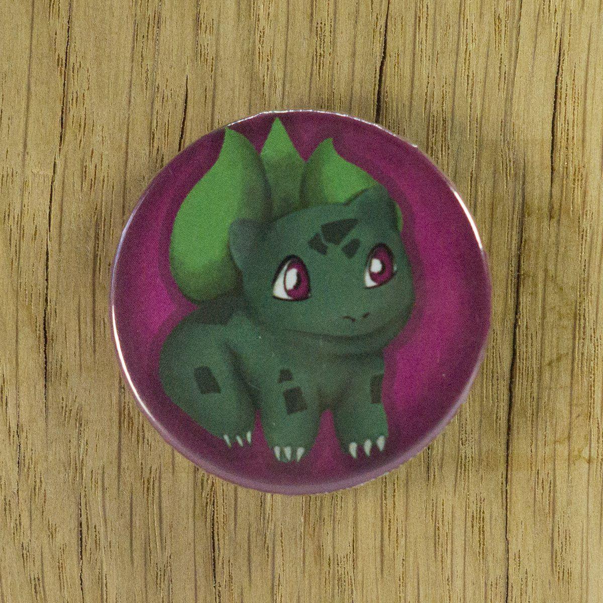 Badge Bulbizarre – Pokémon