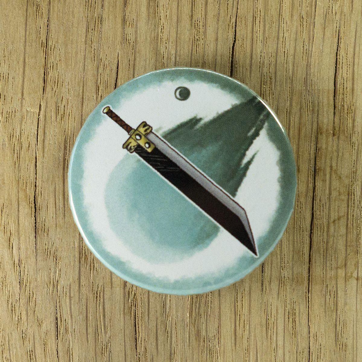 Badge Buster Sword – Final Fantasy VII