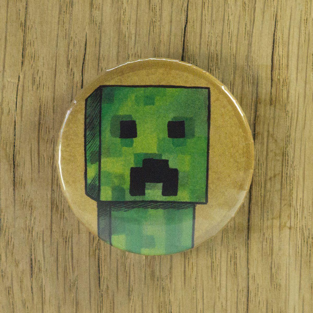 Badge Creeper – Minecraft