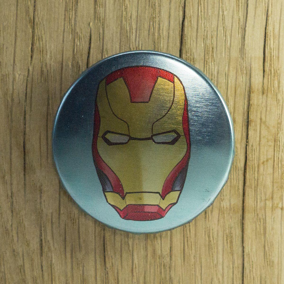 Badge Iron Man – Marvel
