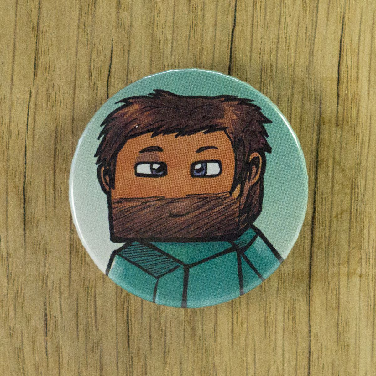 Badge Mexicain – Minecraft