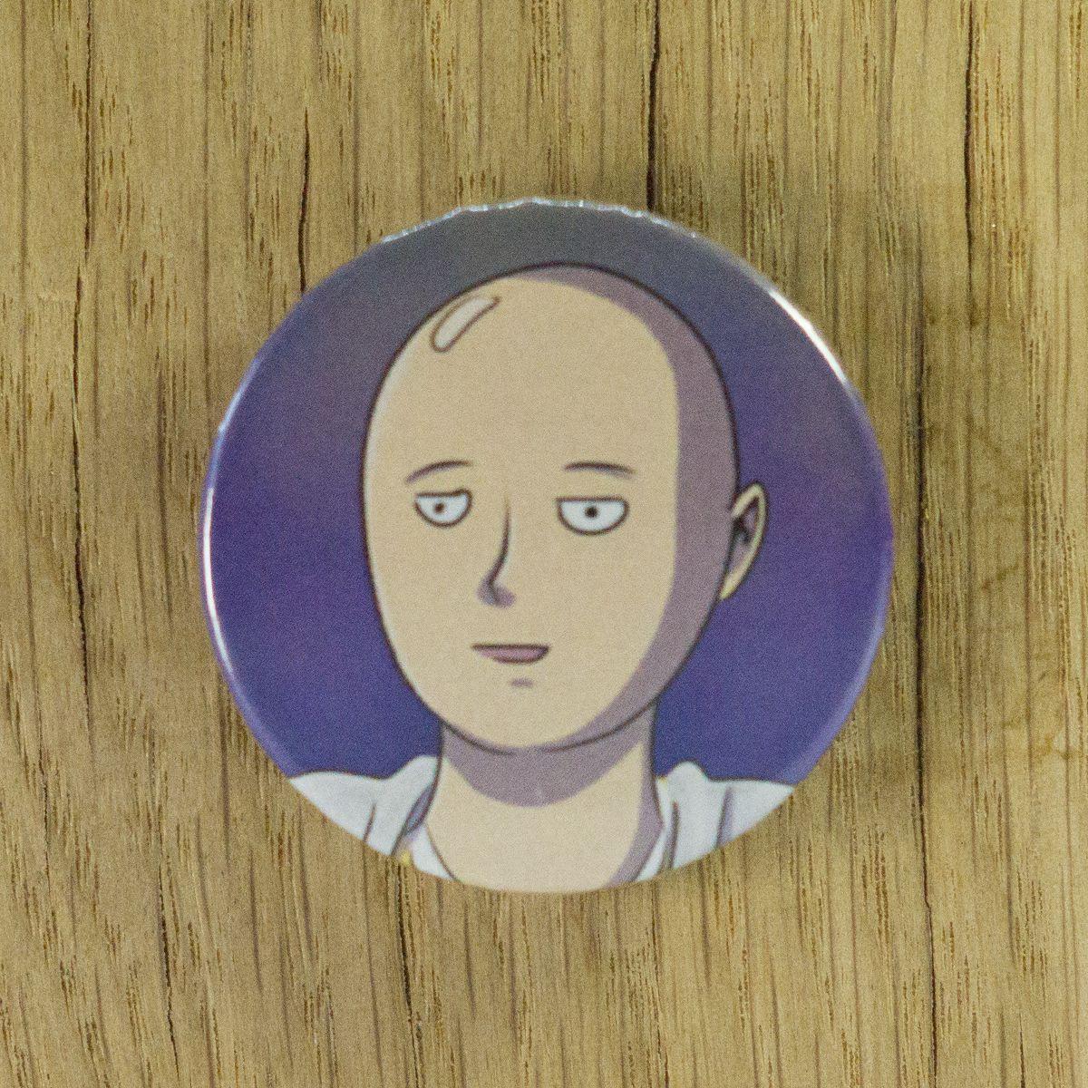 Badge Saitama – One Punch Man