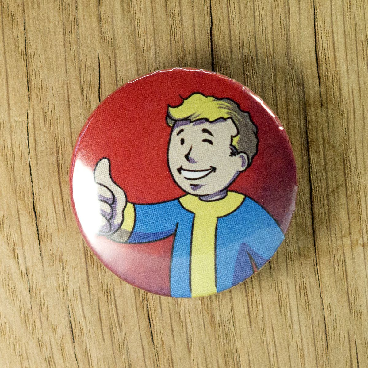Badge Vaultboy – Fallout