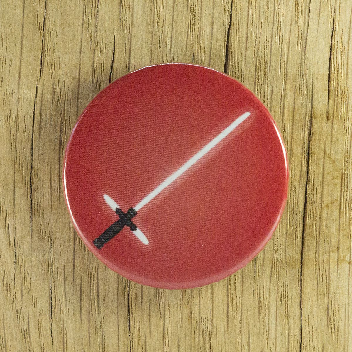 Badge sabre Kylo Ren – Star Wars