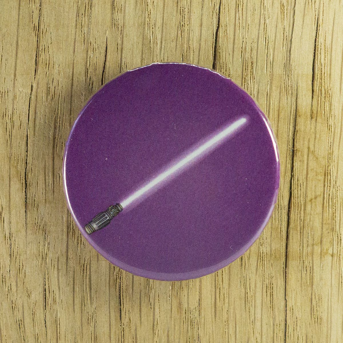 Badge sabre violet – Star Wars