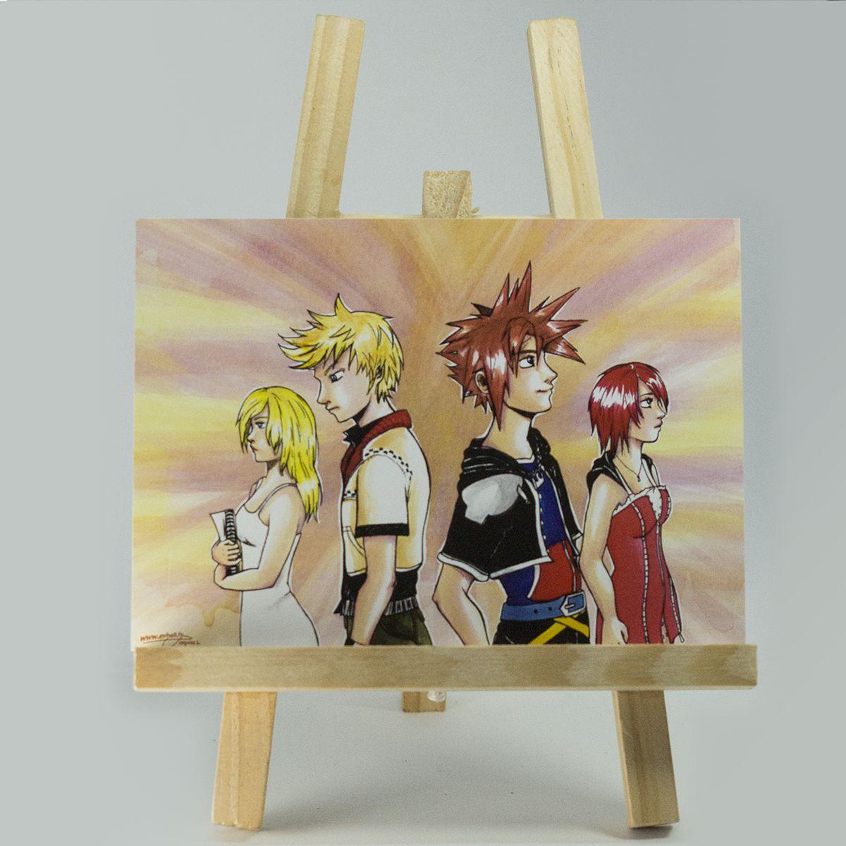 Carte Kingdom Hearts