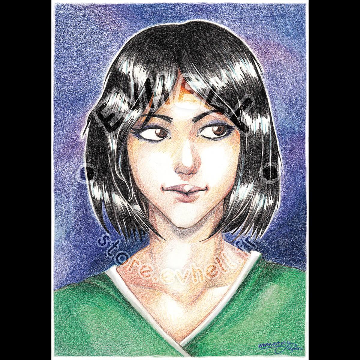 Carte Megumi – Original Character HD