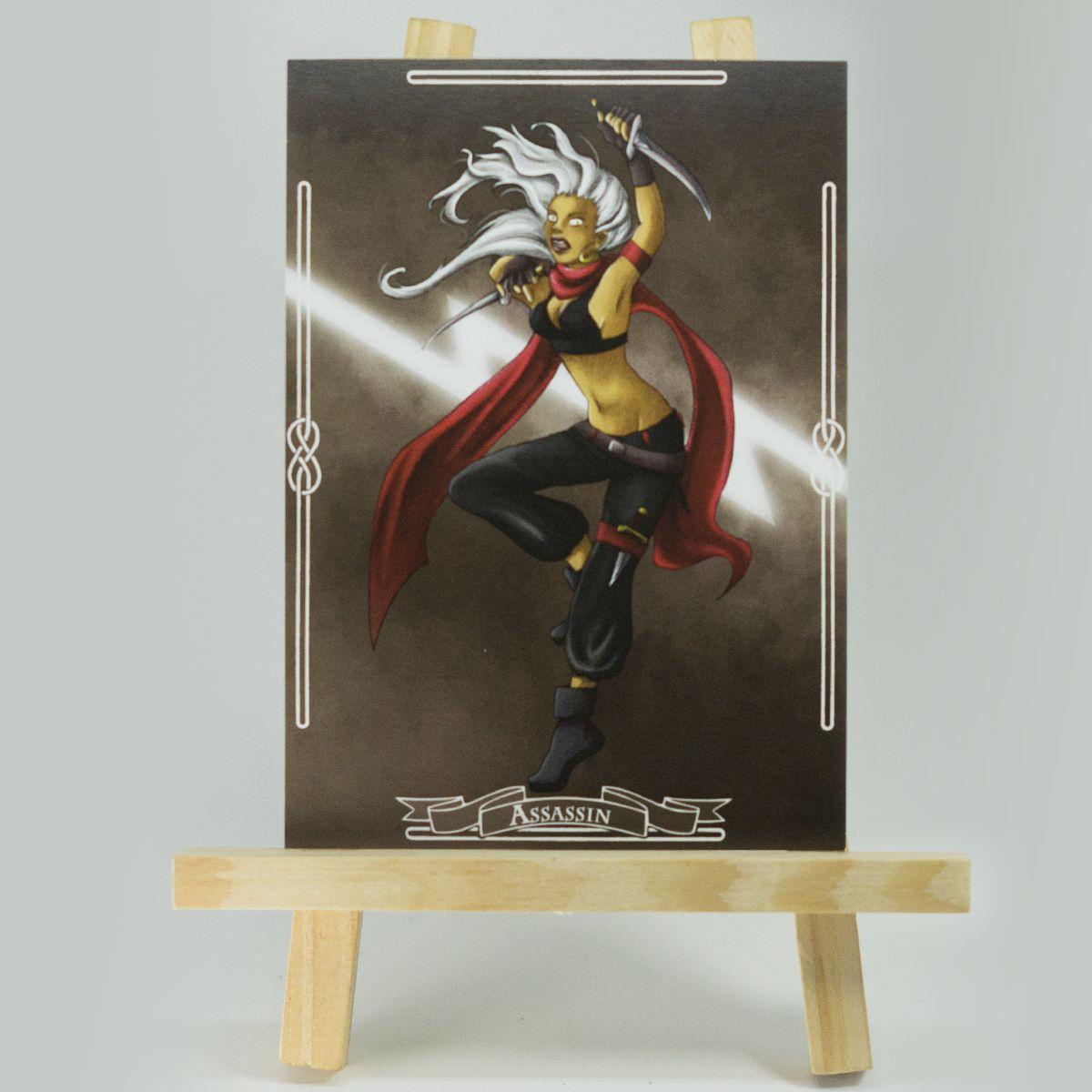 Carte RPG Assassin – Original Character