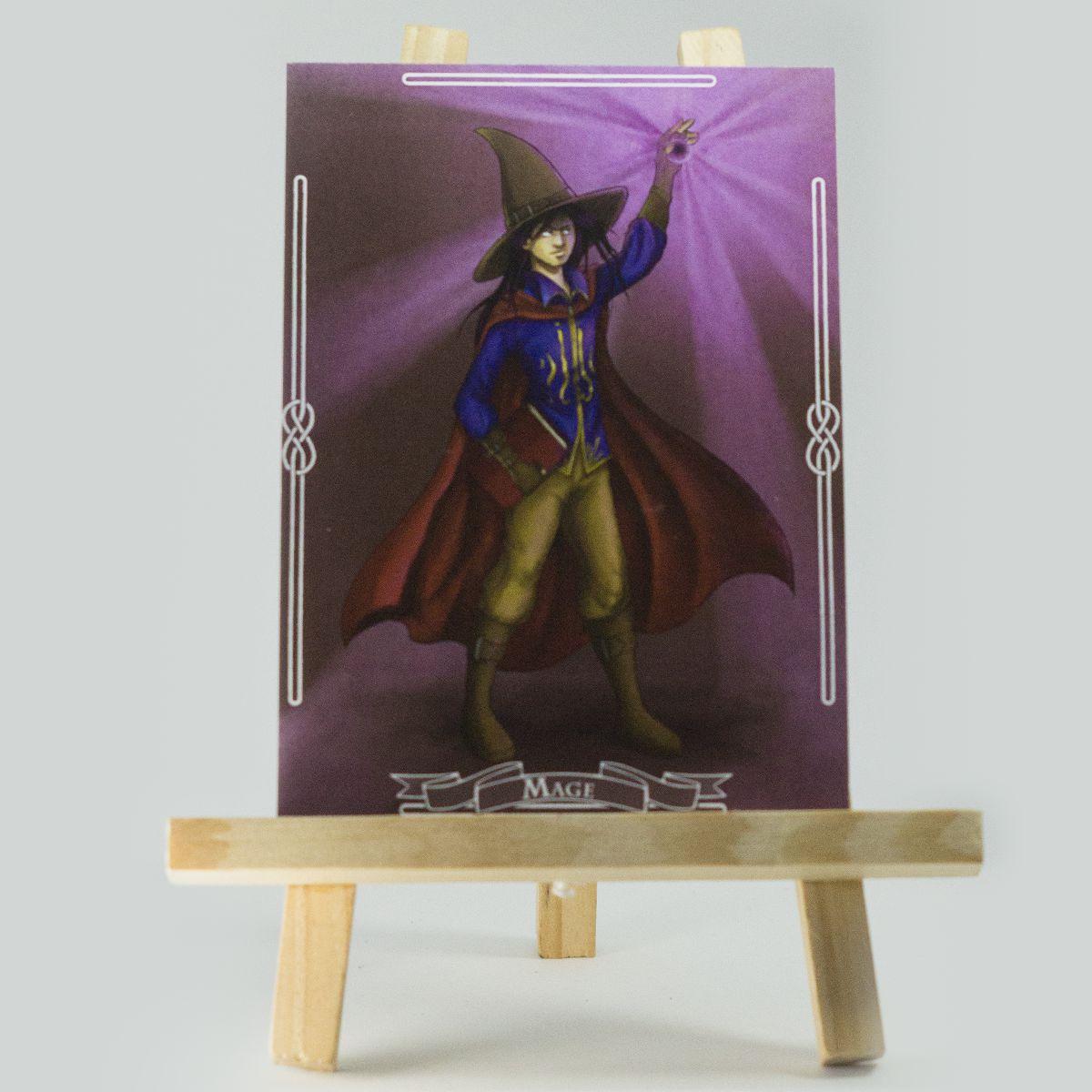Carte RPG Mage – Original Character