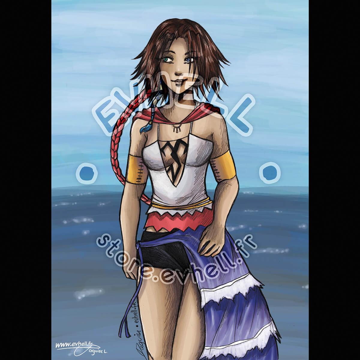 Carte Yuna – Final Fantasy X-2 HD