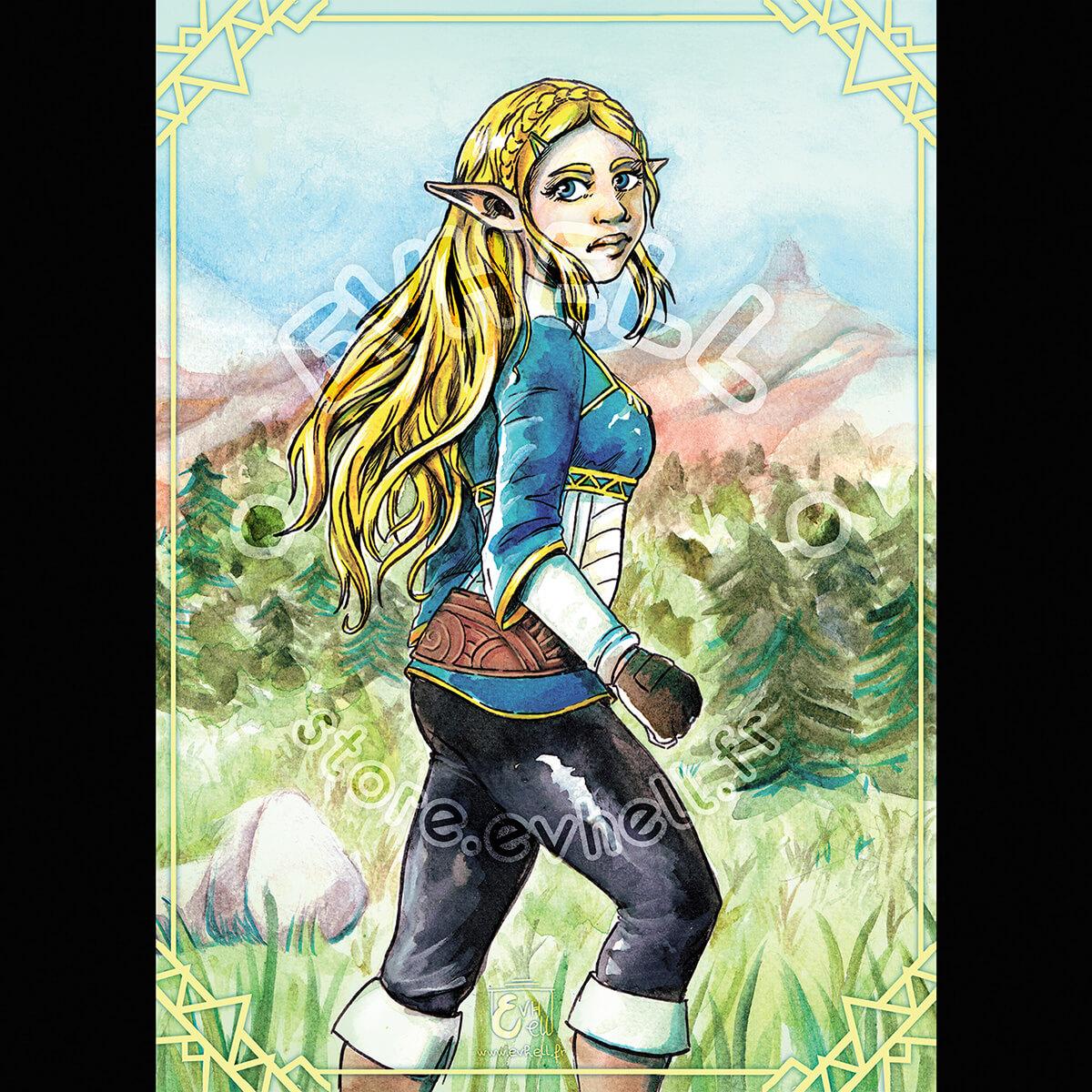 Carte Zelda – Breath of the Wild HD