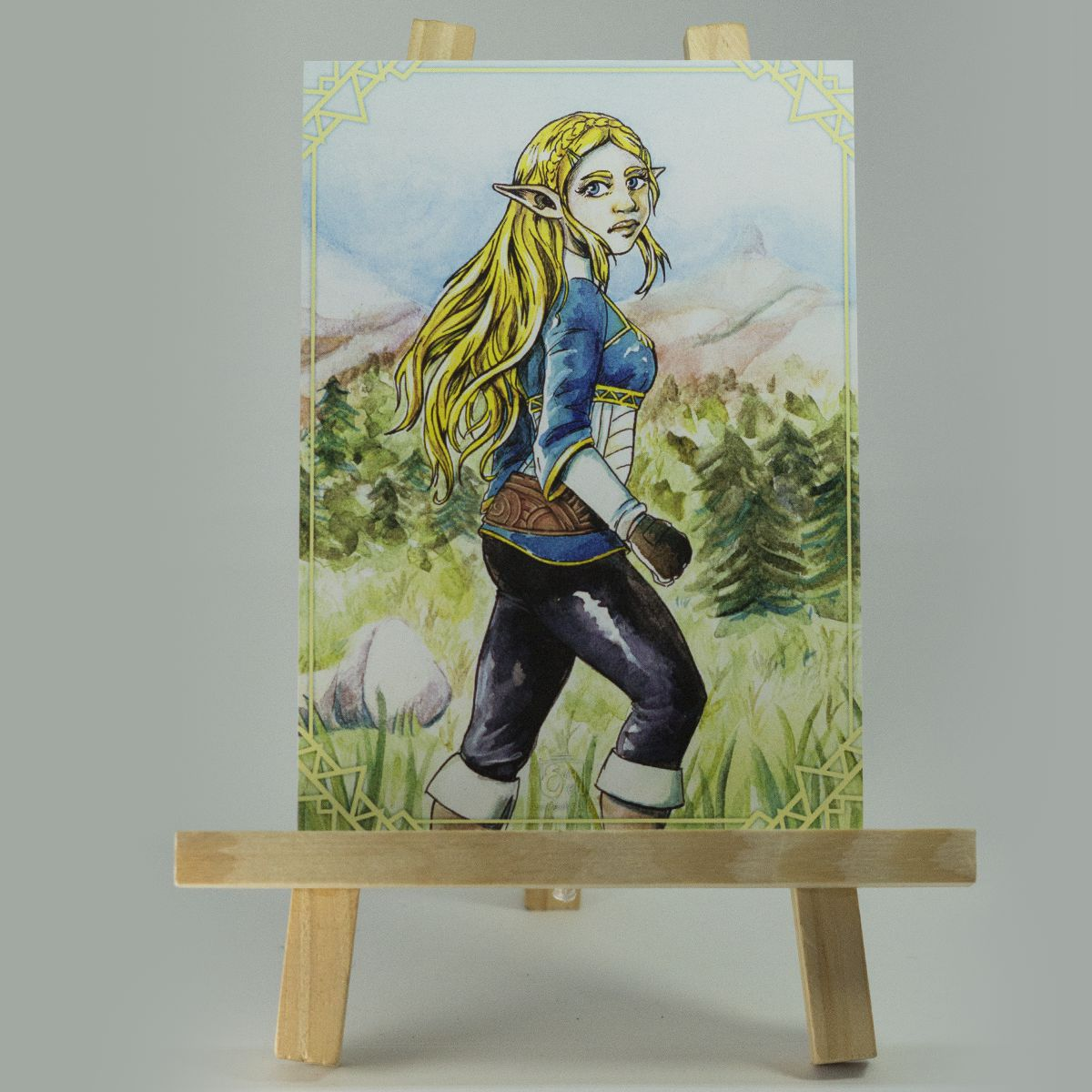Carte Zelda – Breath of the Wild