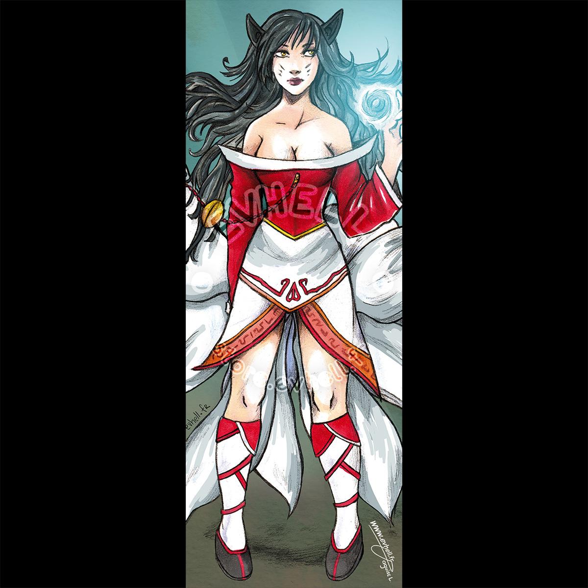 Marque page Ahri – League of Legends HD