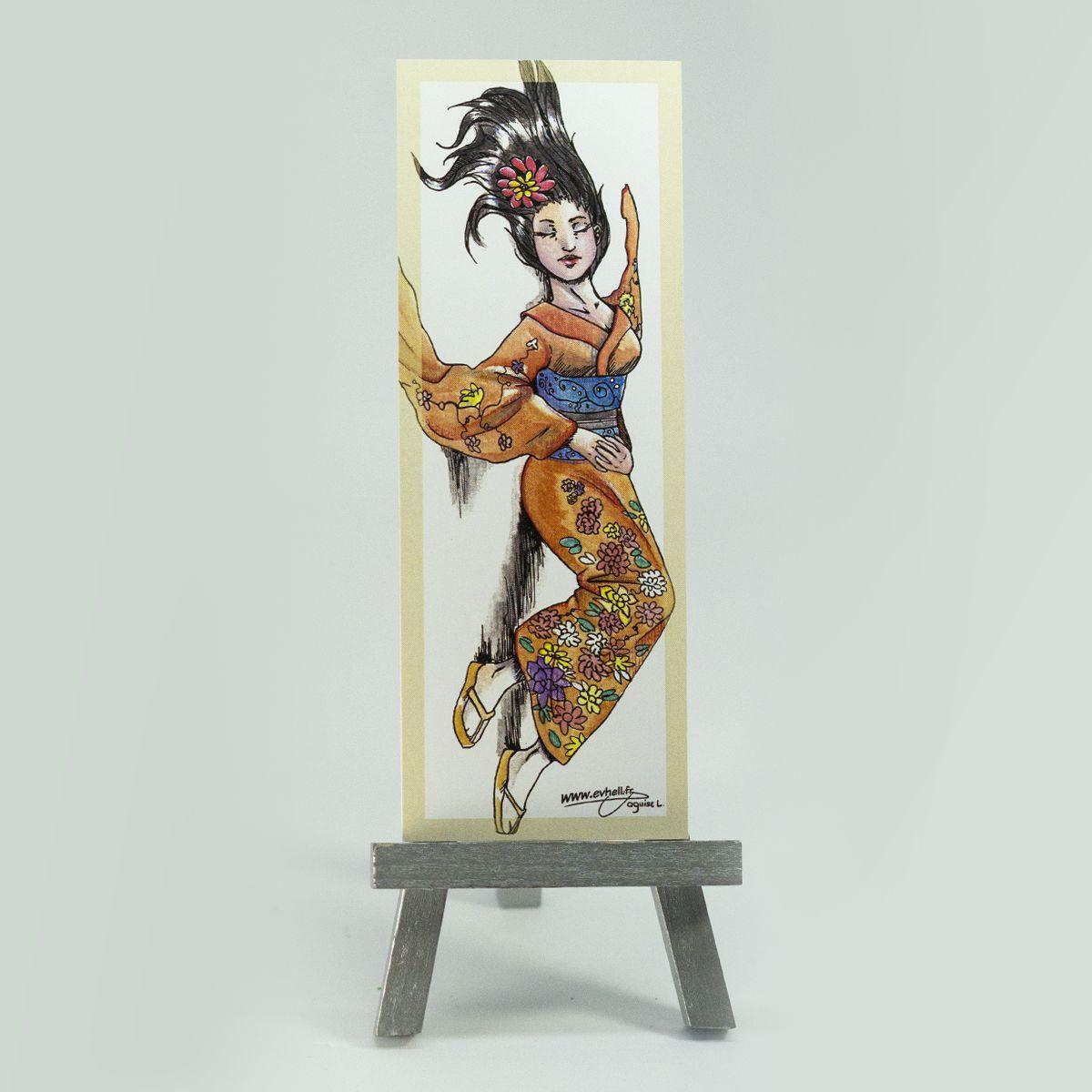 Marque page Geisha – Original Character