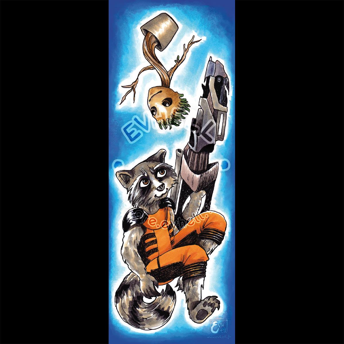 Marque page Groot – Gardien de la Galaxie HD