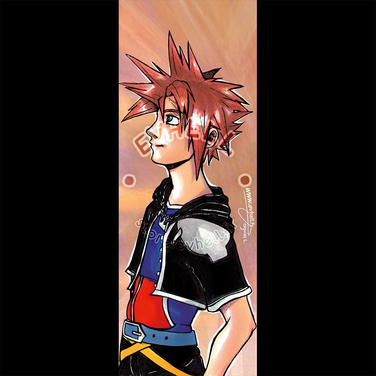 Marque page Sora – Kingdom Hearts HD