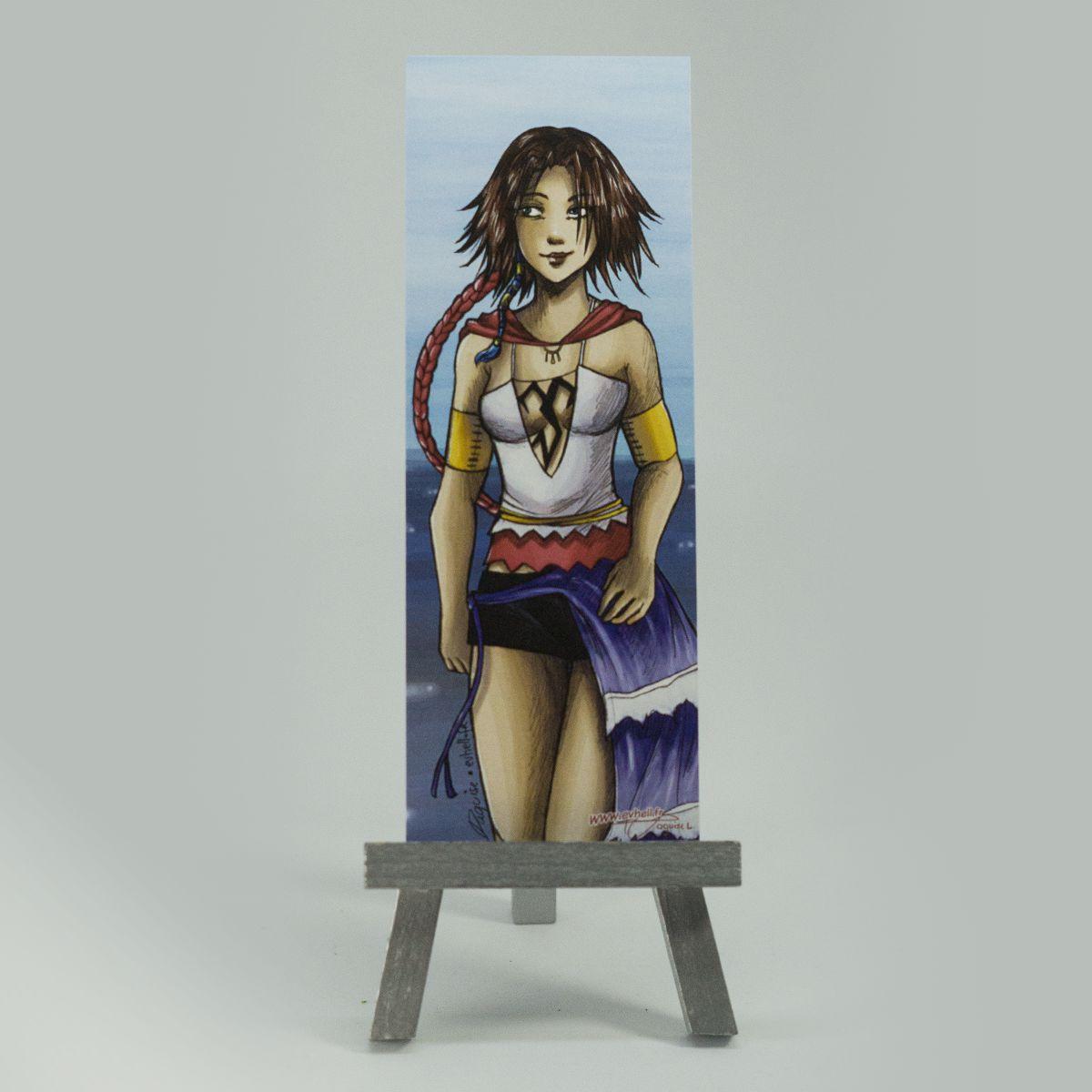 Marque page Yuna – Final Fantasy X-2