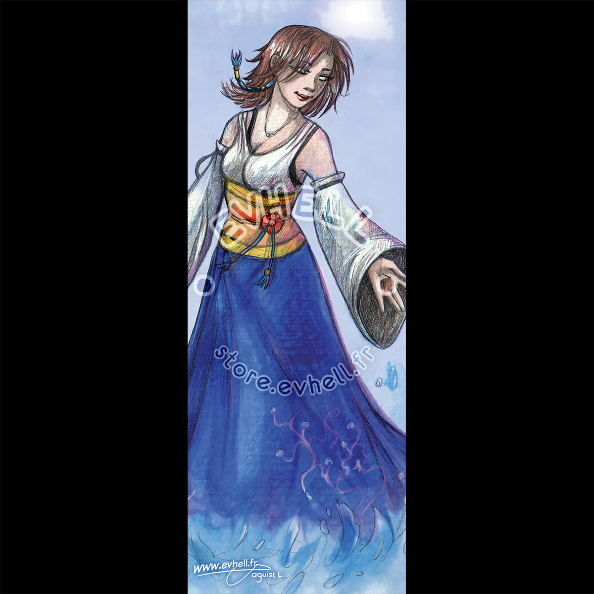 Marque page Yuna – Final Fantasy X HD