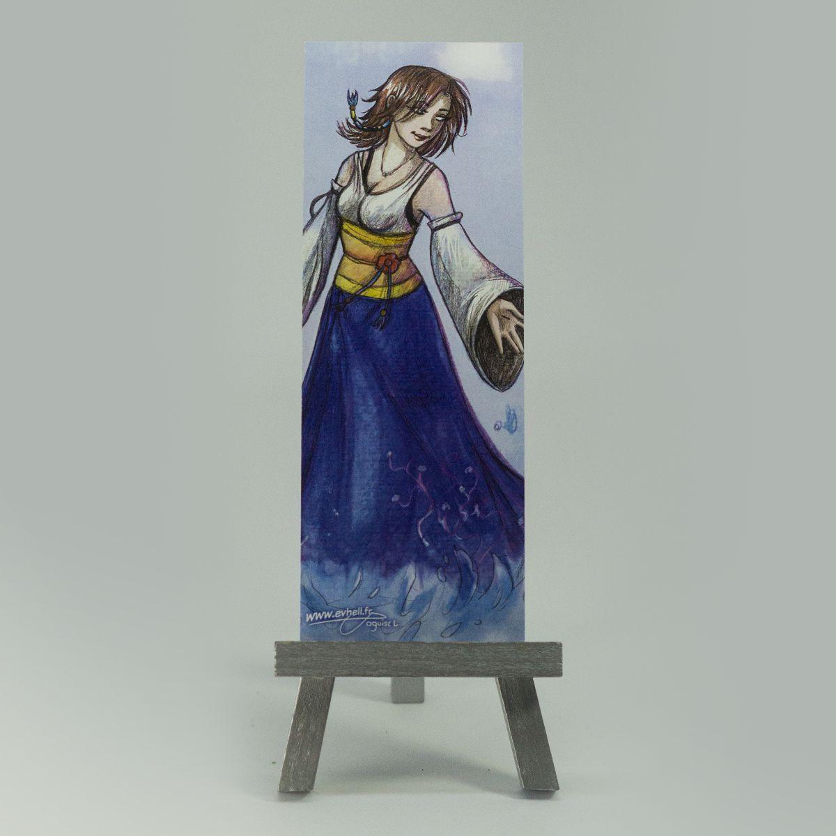 Marque page Yuna – Final Fantasy X