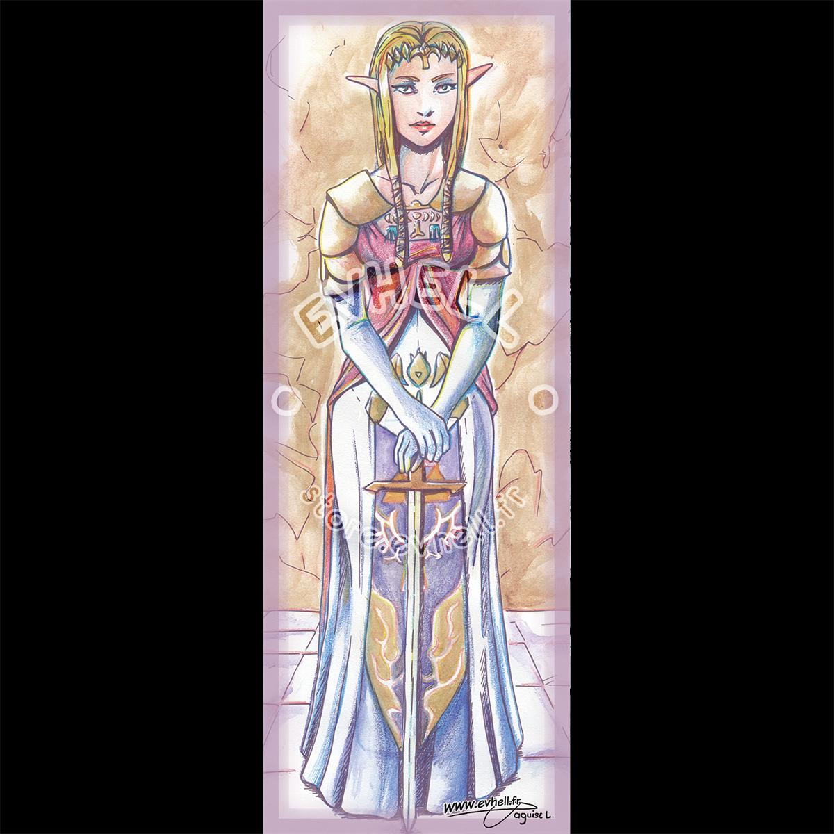 Marque page Zelda – The Legend of Zelda HD