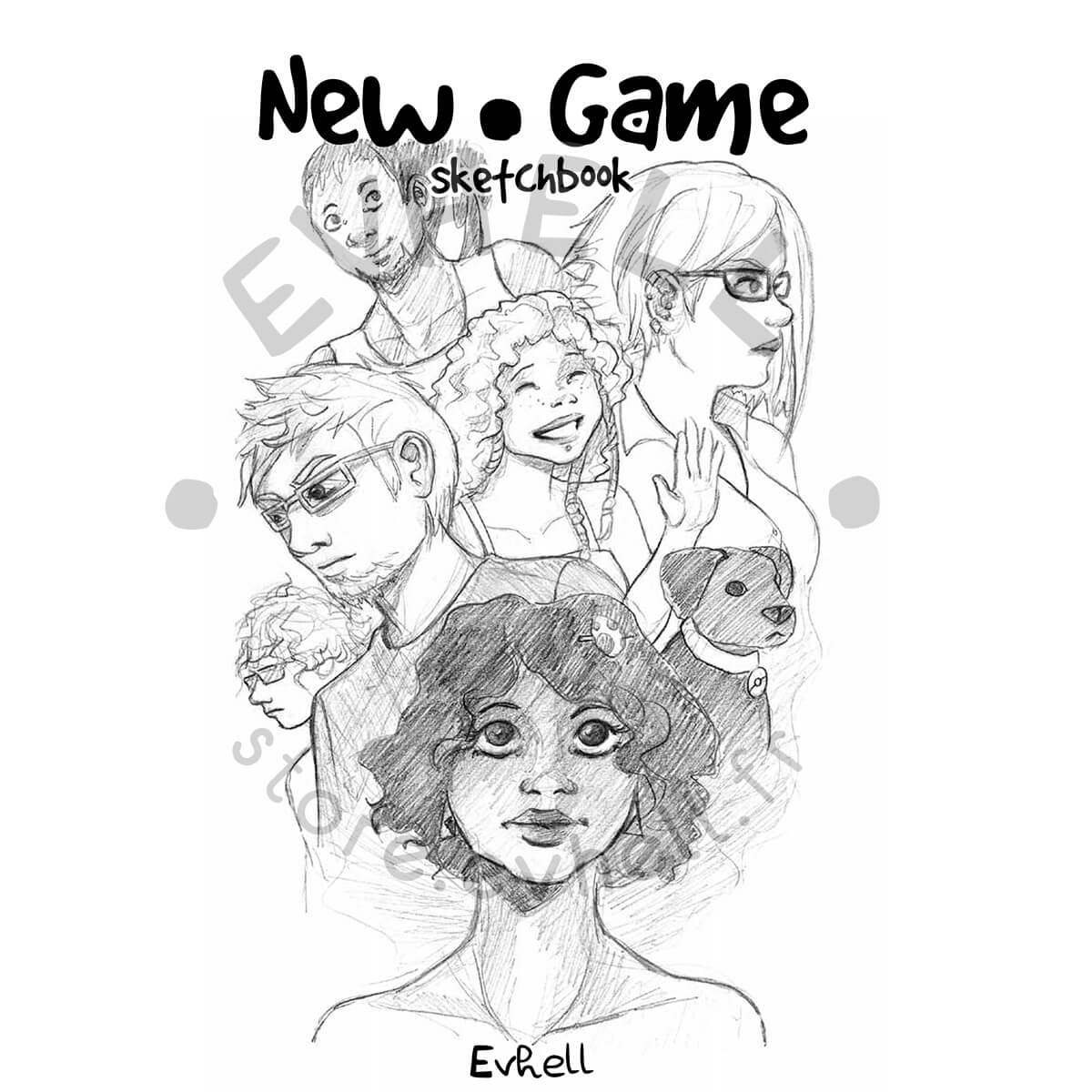 Sketchbook New Game - couverture
