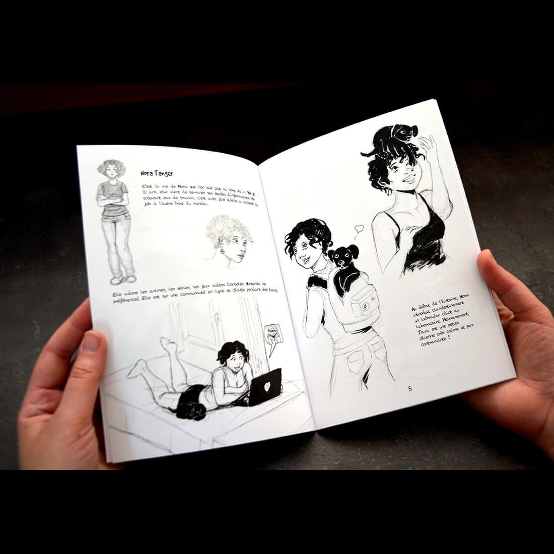 Sketchbook New Game - intérieur