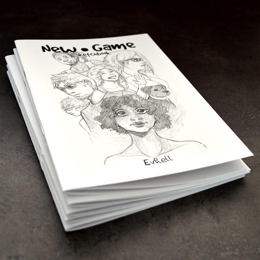Sketchbook New Game