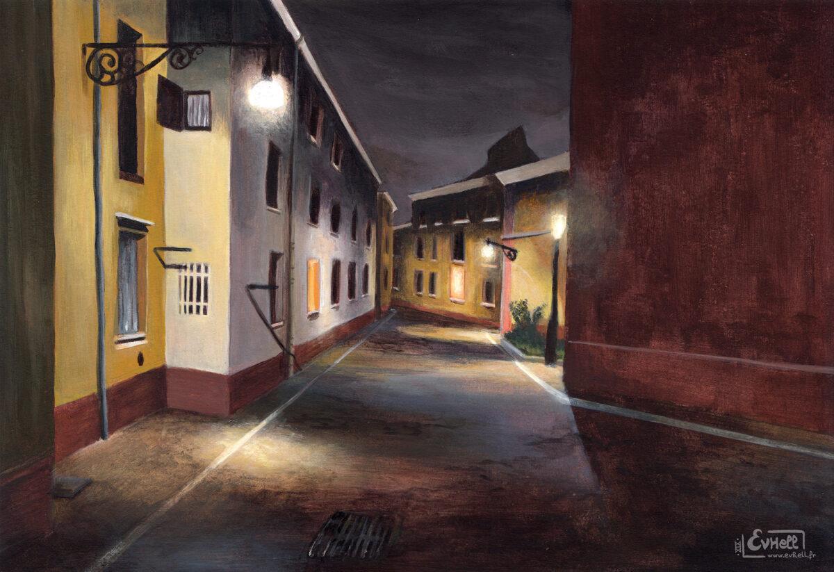 La nuit à Venise - Peinture acrylique