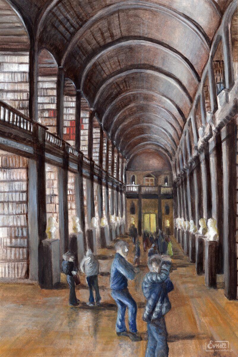 Trinity College - Peinture acrylique