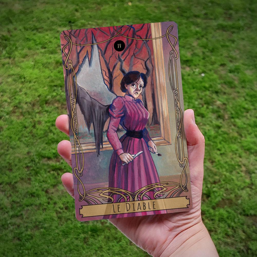 Carte de Tarot : Le Diable (Mère)