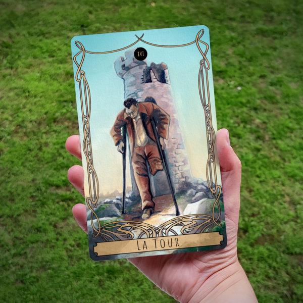 Carte de Tarot : La Tour (Père)