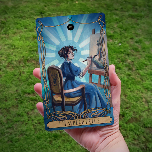 Carte de Tarot : L'Impératrice (Sophie)