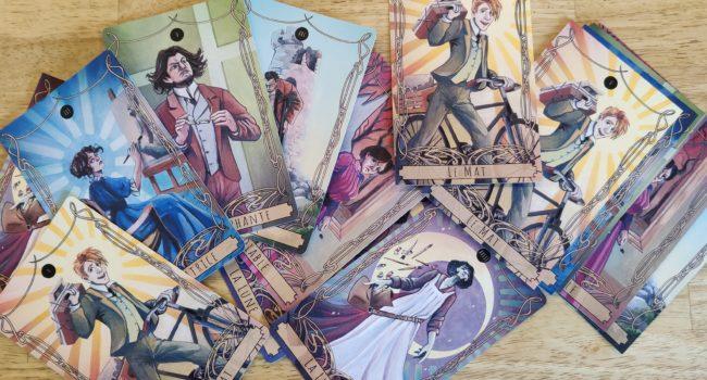 Cartes illustrées de Tarot